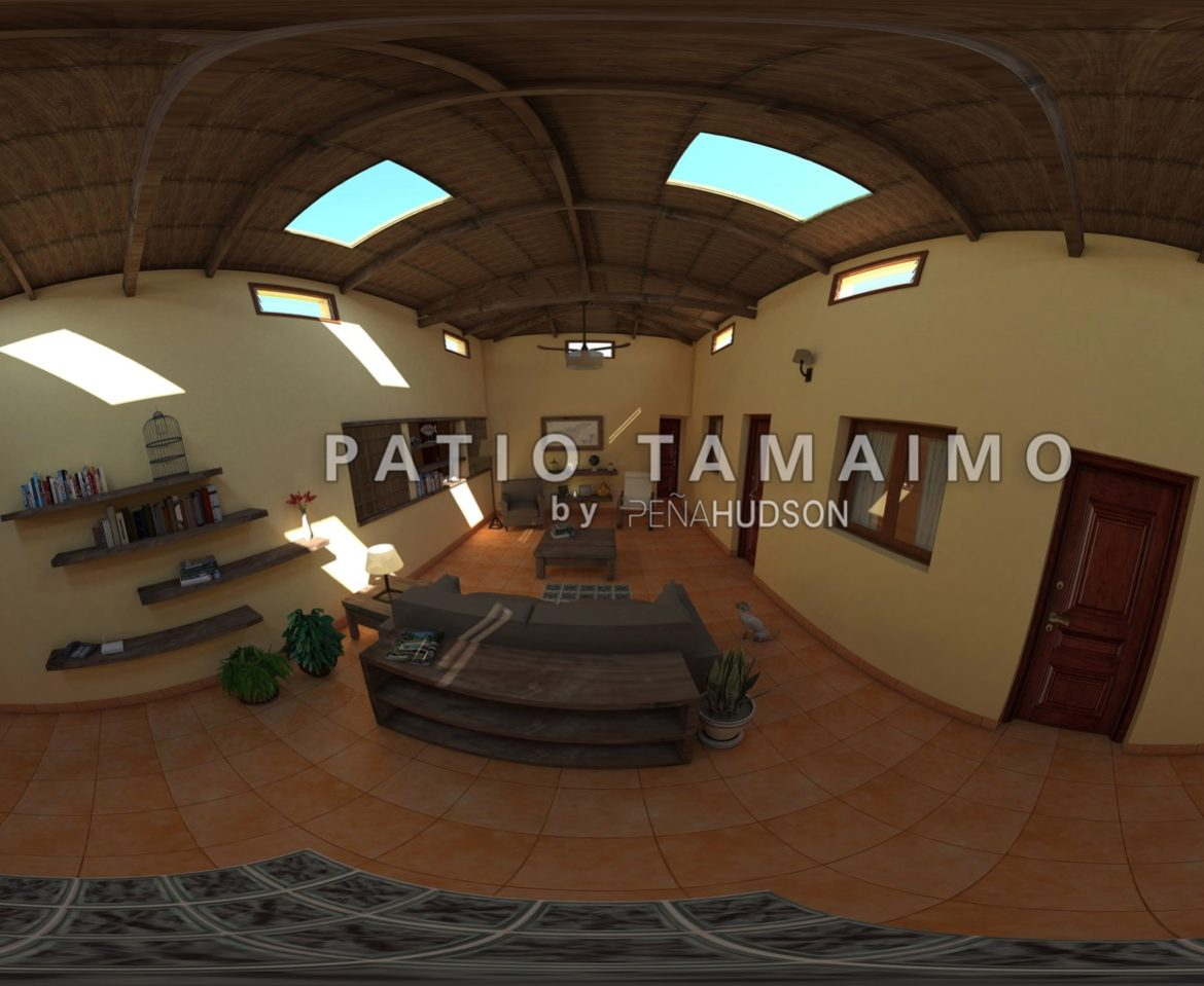 PATIO TAMAIMO PASEO VIRTUAL 360º