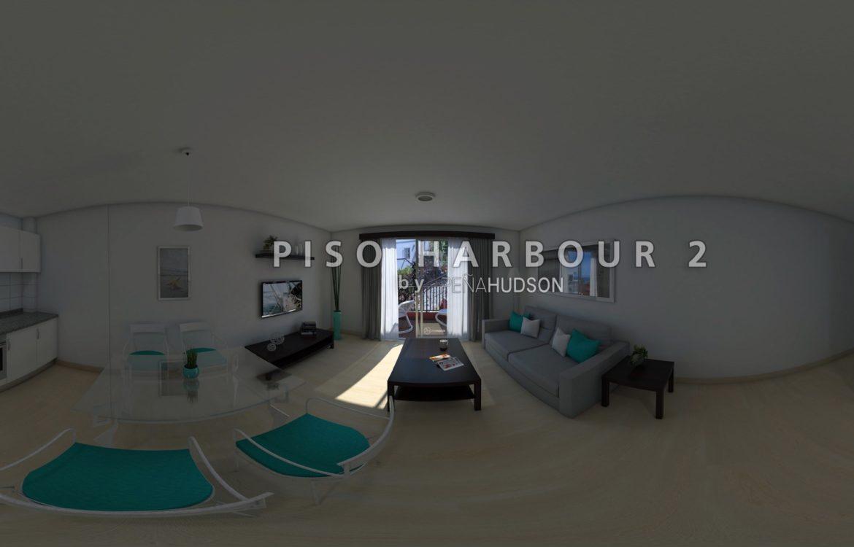PISO HARBOUR 2 PASEO VIRTUAL 360º